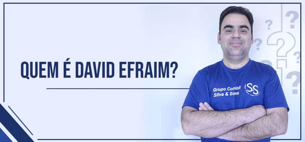 David Efraim, o fundador da ICTUS Contabilidade